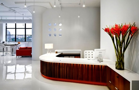 Original 33 Reception Desks Featuring Interesting And Intriguing Designs