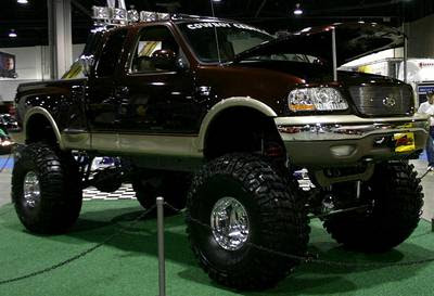 Ford F Lifted