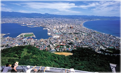 Mt Hakodate at Day