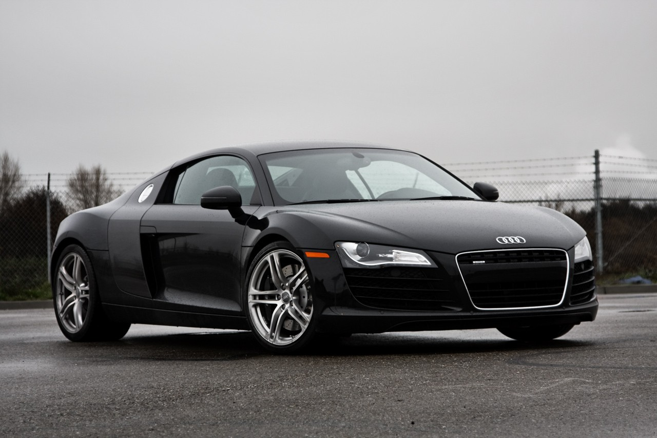 audi r8 cars audi r8 black. Black Bedroom Furniture Sets. Home Design Ideas