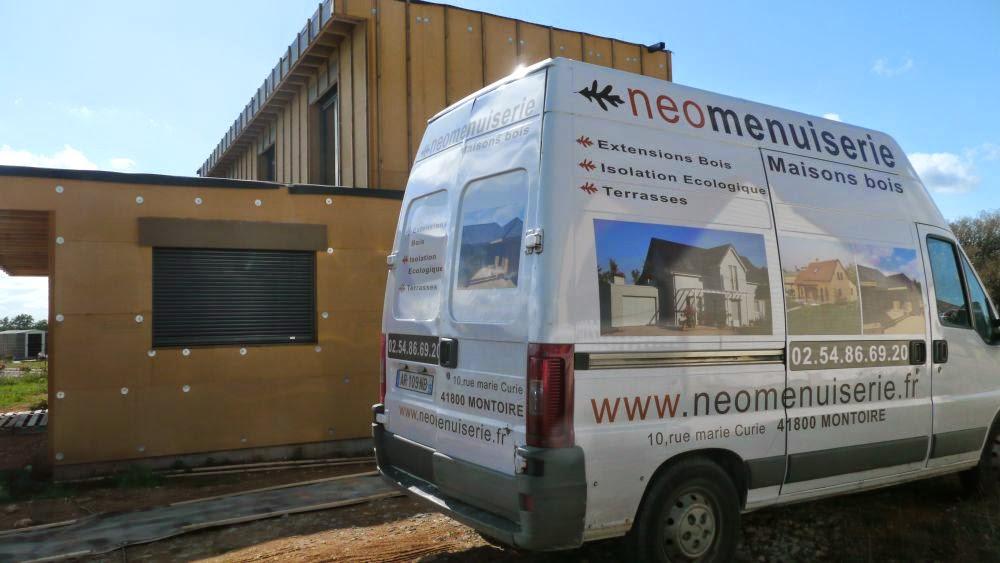 MOB témoin Néomenuiserie avec planchers chauffants sec et mince Caleosol + PAC / pompe à chaleur