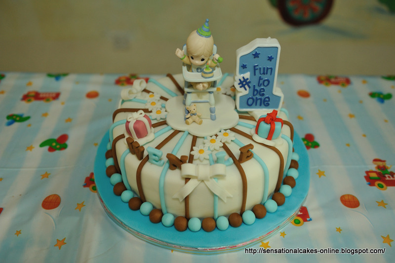 The Sensational Cakes 1st Year 3d Precious Moments Birthday Cake