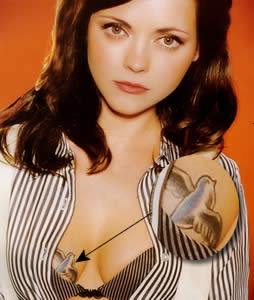 tattoos Christina ricci
