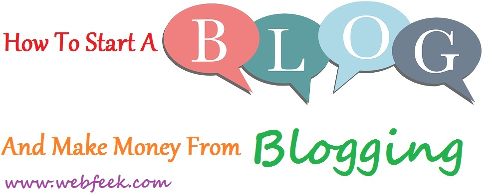 how to create a blog for money