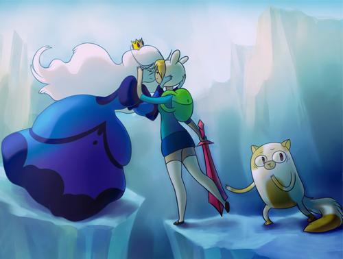 Hora de aventura reina helada