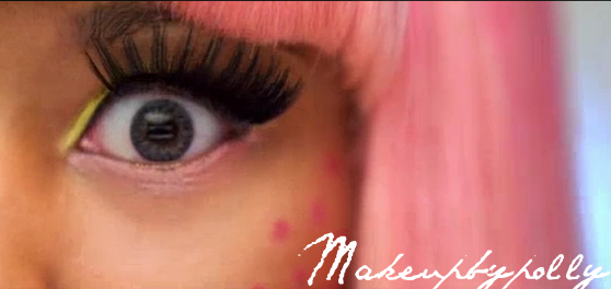 nicki minaj super bass makeup looks. look for Nicki Minaj i