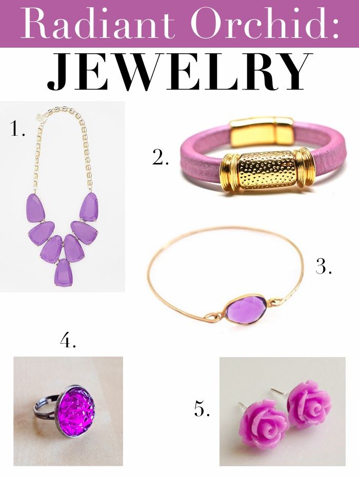 Radiant Orchid Inspiration Jewelry