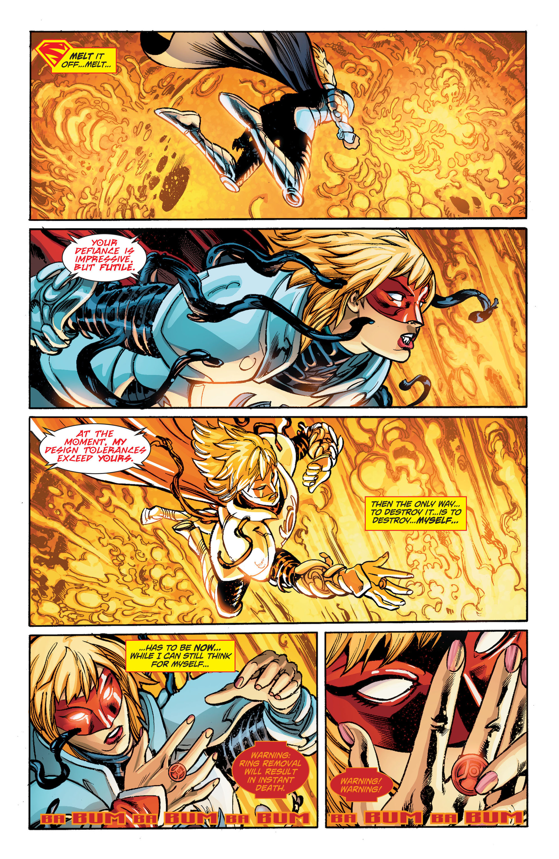 Supergirl (2011) Issue #33 #35 - English 14