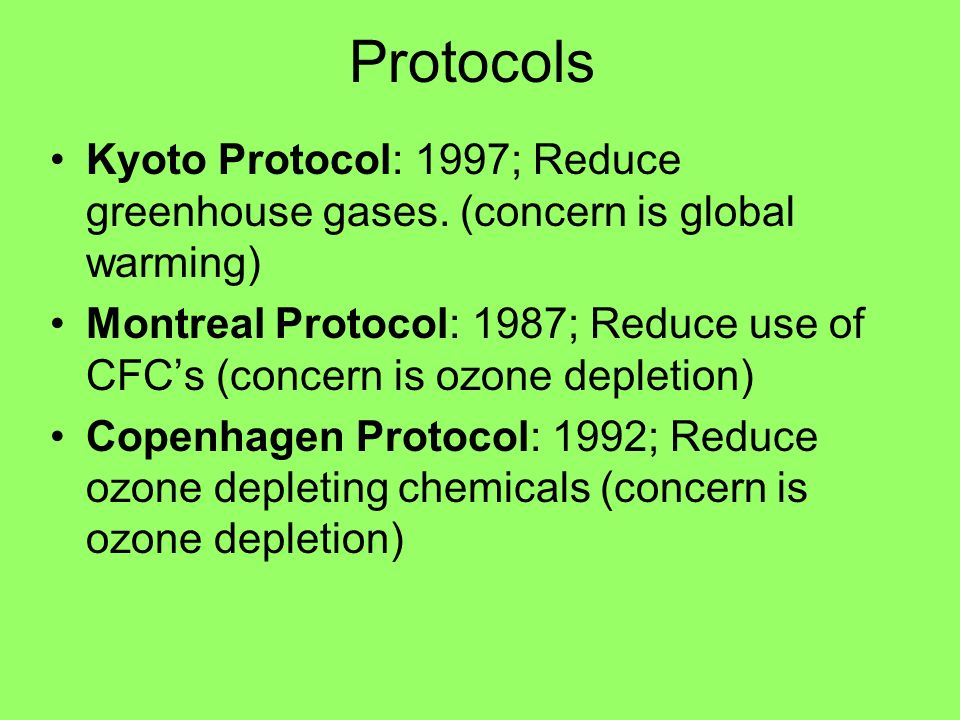 the montreal protocol 1 an assessment of the situation regarding the principle of ensuring that no one is left behind at the global level: the vienna convention for the protection of the ozone layer adopted in 1985 and its montreal protocol on substances that deplete the ozone layer adopted in 1987, which.