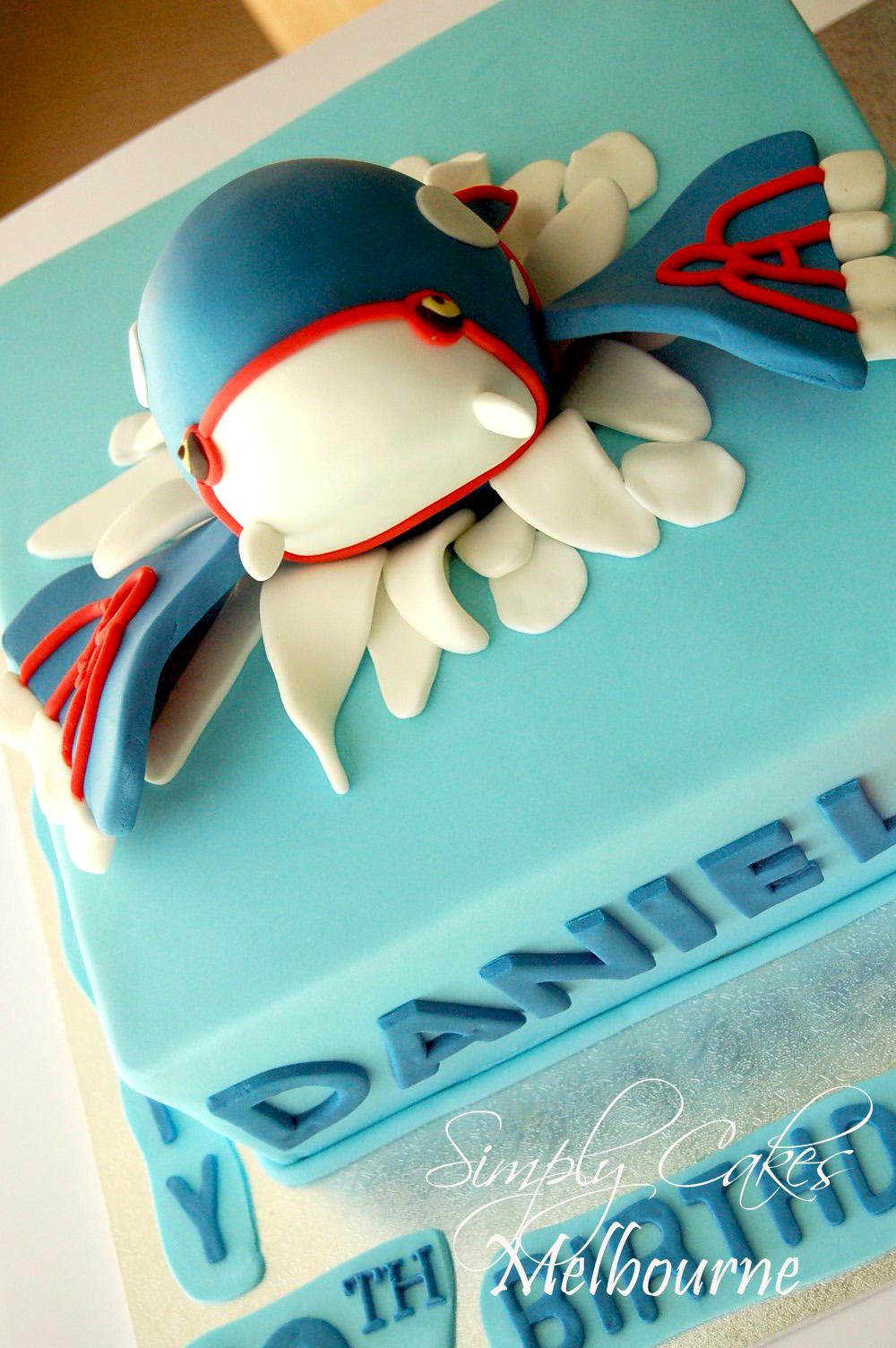 Pokemon Birthday Cake Melbourne