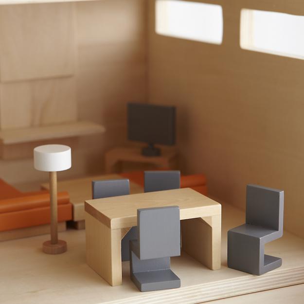Nicolebvintage Land Of Nod Modern Dollhouse