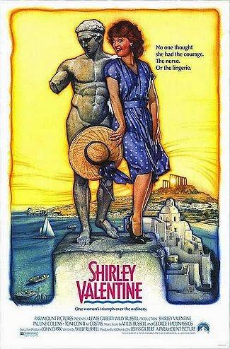 Aula particular de inglês com filmes | Shirley Valentine
