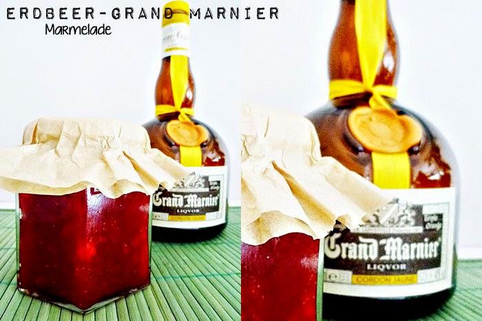 Erdbeer - Grand Manier Marmelade