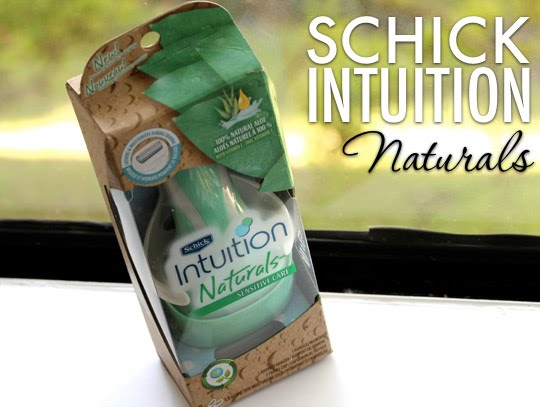 Schick Intuition Naturals Sensitive Care Razor Review