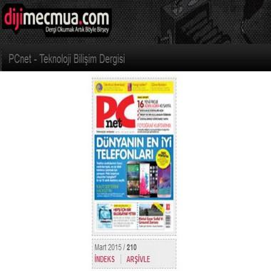 dijimecmua com - pcnet - dergi - tüm sayıları