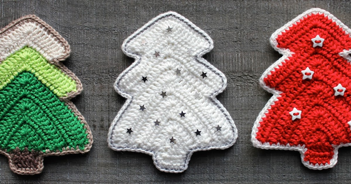 Hilde De Witte Dsm Keukens : Hilde haakt Kerstboompjes haken
