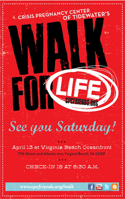 Walk for Life at the Virginia Beach Oceanfront
