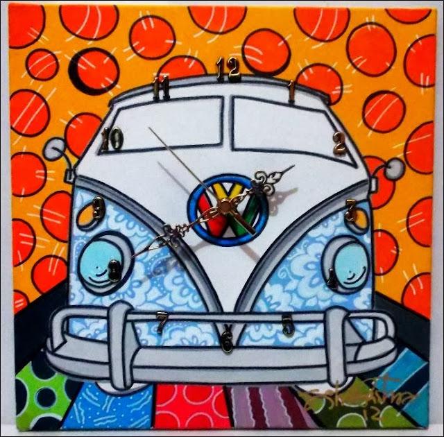 Pinturas com motivos de carros Volkswagen