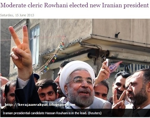 Hassan Rowhani won Iran's presidential elections