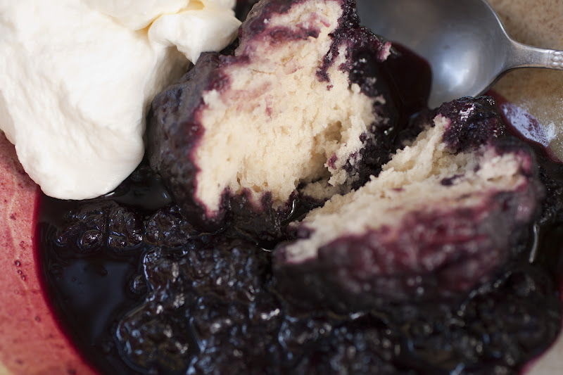 in the Hopeful Kitchen: Blackberry Slump