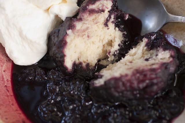 Blackberry Slump Recipe — Dishmaps