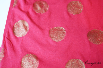 Homemade Polka Dot Shirt