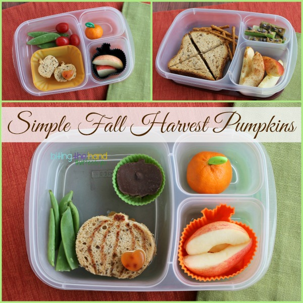 "Simple Fall Harvest Pumpkin lunches for ""work"" and school!"