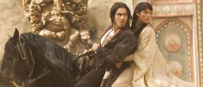 Dastan (Jake Gyllenhaal) et Tamina (Gemma Arterton) dans Prince of Persia : les sables du temps