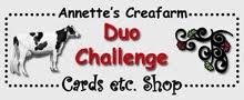 Duo Challenge Annette's Creafarm