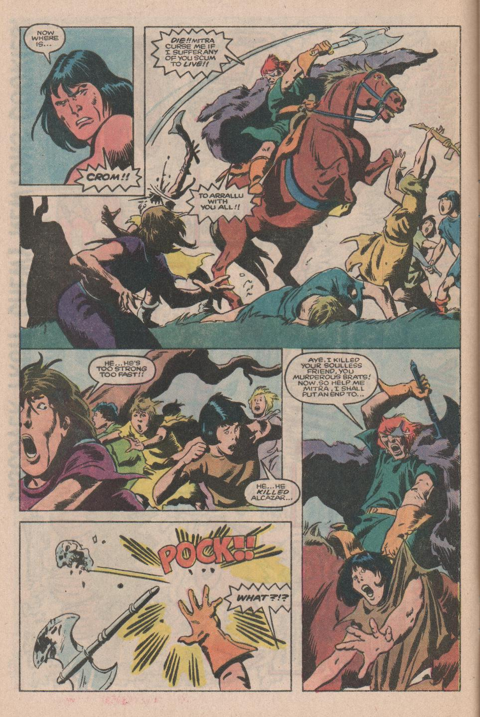 Conan the Barbarian (1970) Issue #174 #186 - English 6