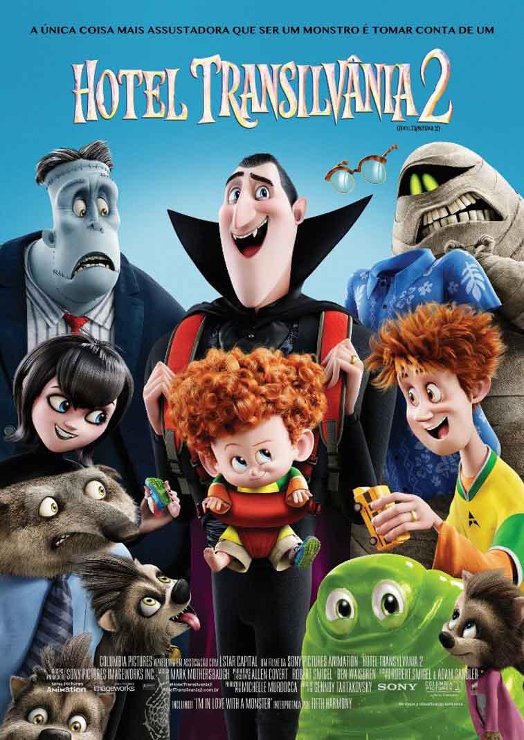 Hotel Transilvânia 2 3D Torrent - Blu-ray Rip 1080p Dual Áudio (2015)