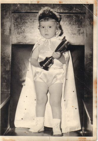 This is me at 2 years old. I won a baby contest:)