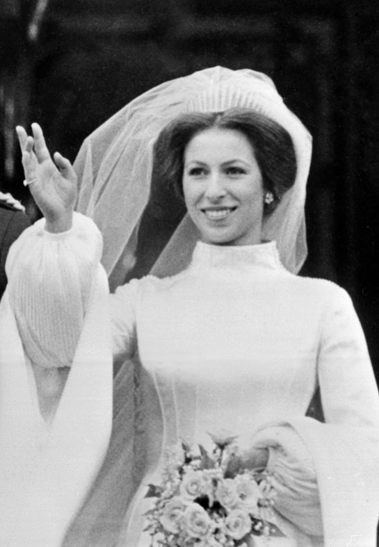 Days of majesty who is the most beautiful royal bride for Princess anne wedding dress