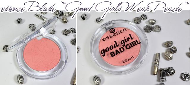 essence Good Girl Bad Girl - Blush GOOD GIRLS WEAR PEACH
