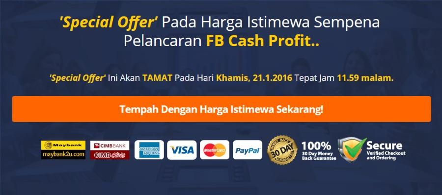 FB Cash Profit Review