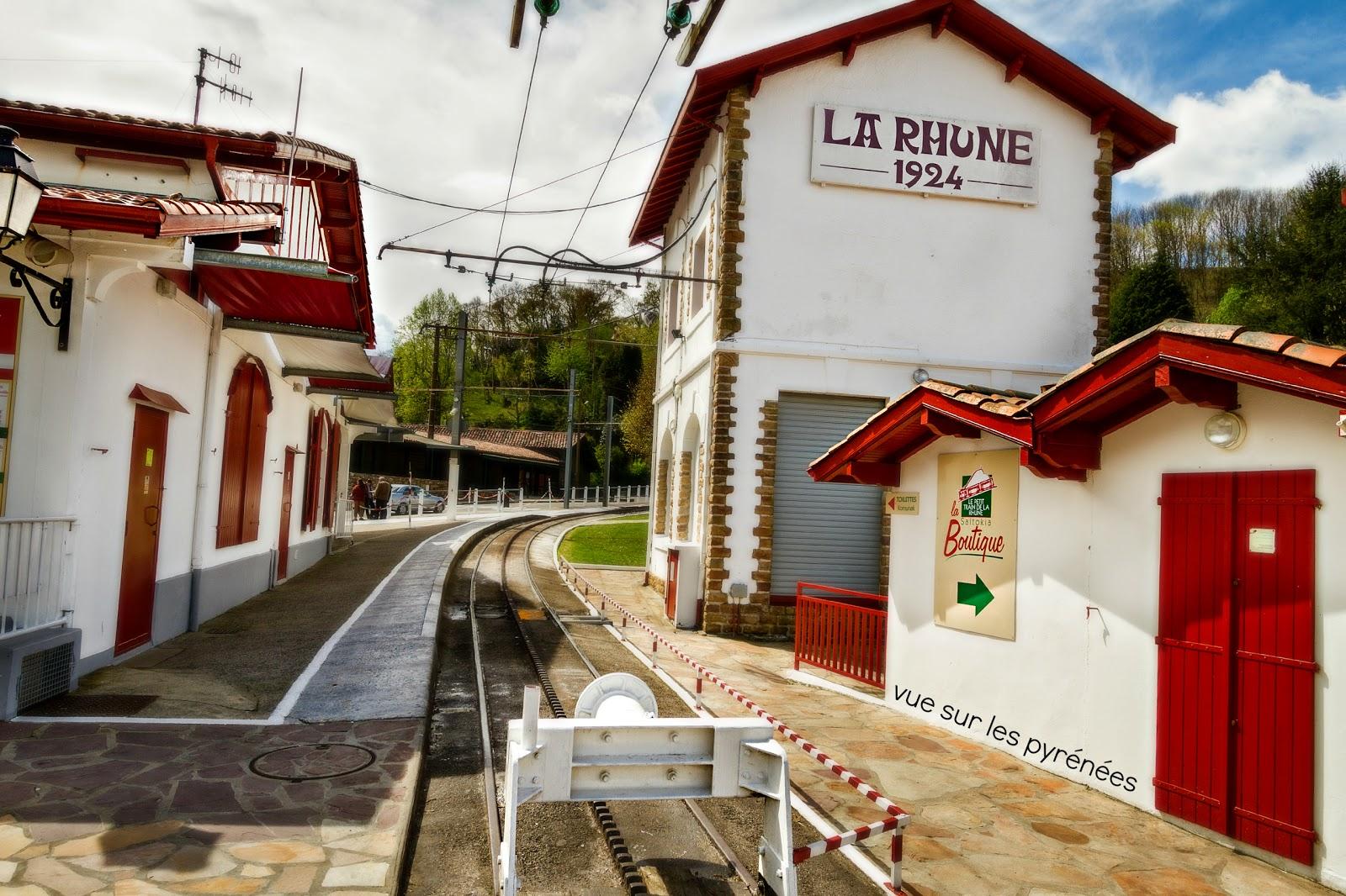 la gare de la Rhune 1924-2014 pays basque