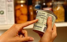 Revisa las etiquetas de tu comida