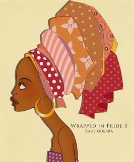 Mujer Africana Pintada