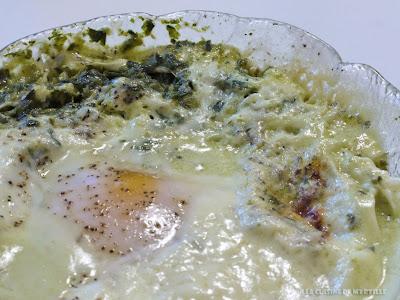 Oeufs cocotte aux épinards (voir la recette)