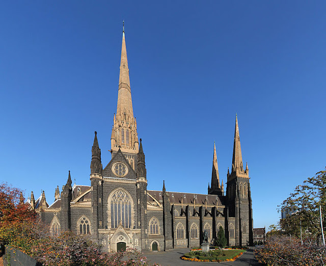 St. Patrick's cathedral, beautiful building of Melbourne