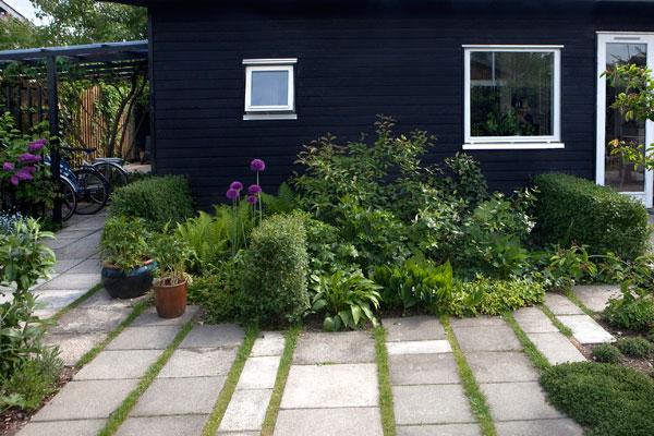 Flex Inredning: Liten trädgård
