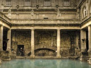 baño romano fotografia