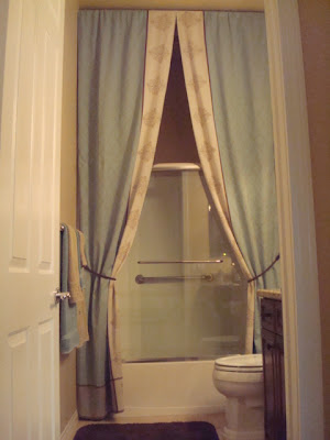 Bunny Jeans Decor... and More ~: I Made A Ten Foot Tall Shower ...