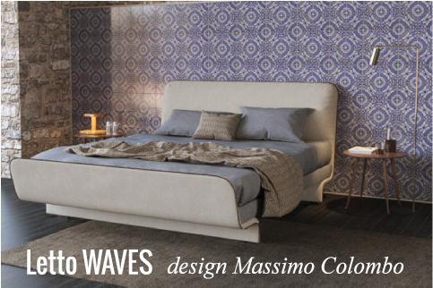 Letto Waves: stile e design per la camera da letto | Blog di ...