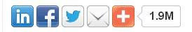 cara pasang tombol share di atas dan di bawah posting blog