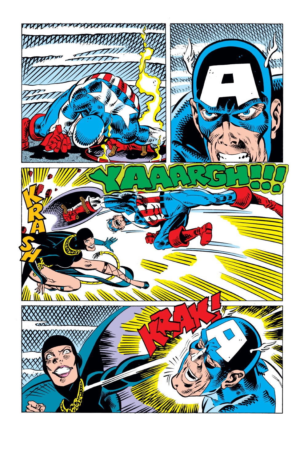 Captain America (1968) Issue #296 #224 - English 19