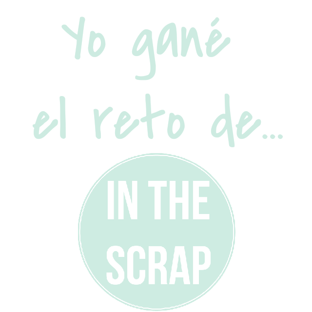 Ganadora reto In the Scrap Junio 2015