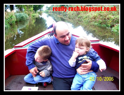 Really Rachel daddy and his babies on the Montgomery Canal