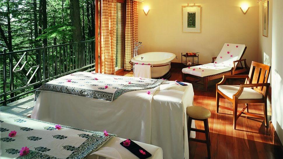 Wild Flower Hall, Shimla - Spa Room