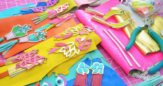 Boo and Boo Factory, leather jewellery, handmade